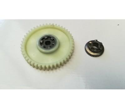 Шестерня ведомая привода электропилы Matrix (D-95.3mm 45 шлицов)