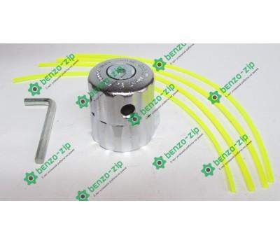 Косильная головка  для мотокосы аллюминиевая