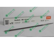 Напильник 4 мм для заточки цепи Stihl оригинальный