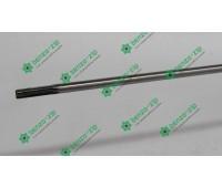 Ведущий вал (жесткий привод) d-7 мм на 7 шлицов для мотокосы