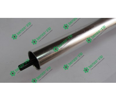 Ведущий вал 26 мм (жесткий привод) на 9 шлицов для мотокосы в сборе