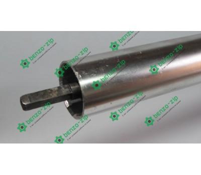 Ведущий вал 26 мм (жесткий привод) на квадрат для мотокосы в сборе